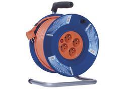 Emos P19425 PVC predlžovací kábel na bubne - 4 zásuvky 25m