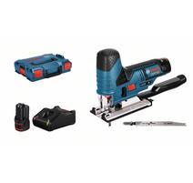 Bosch GST 12V-70 Professional Aku priamočiara píla 12 V, 2 x 3,0 Ah, L-Boxx 06015A1005