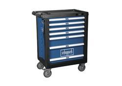 Scheppach TW 1000 dielenský vozík s náradím, 7 zásuviek, 263 dielov