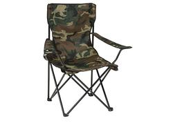 Strend Pro LEQ ARNOLD Skladacia stolička kamufláž Oxford 600D 85x53x85 cm