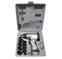 Strend Pro Airtool WF-002A Sada uťahovacia pištoľ na kompresor v kufri 17 dielna