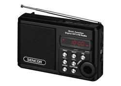 Sencor SRC 3100 B rádiobudík s projekc.
