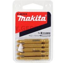 Makita P-48505 Sada bitov PZ2x50mm 5ks