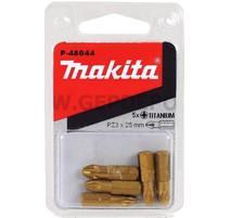 Makita P-48044 Sada bitov PZ3x25mm 5ks