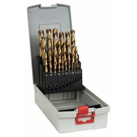 Bosch 2608587019 25-diel. HSS-TiN súprava vrtákov do kovu ProBox