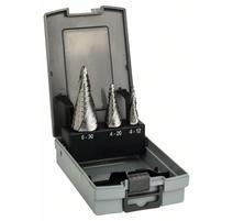 Bosch 2608587426 3-dielna súprava stupňovitých vrtákov HSS