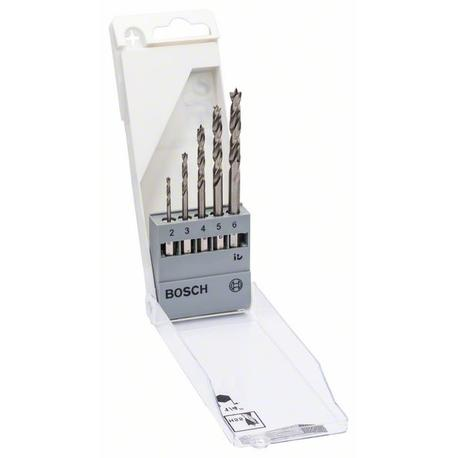 Bosch 2608595525 5-dielna súprava vrtákov na drevo so šesťhrannou stopkou