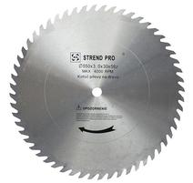 Strend Pro SuperSaw CW Pílový kotúč bez plátkov na drevo 500x3,0x30 z56