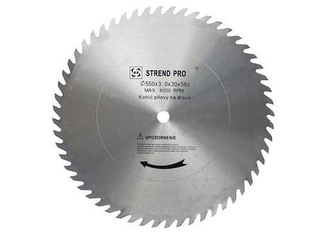Strend Pro SuperSaw CW Pílový kotúč bez plátkov na drevo 600x3,5x30 z56