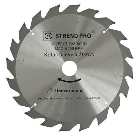 Strend Pro SuperSaw NW Pílový kotúč s plátkami na drevo 200x2,5x20 z16