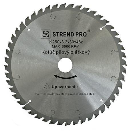 Strend Pro SuperSaw NWP Pílový kotúč s plátkami na drevo 160x2,5x20 z24