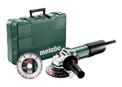 Metabo W 850-125 SET Uhlová brúska v kufríku 125mm, 603608510