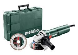 Metabo W 1100-125 SET Uhlová brúska 125mm, 603614510