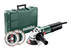 Metabo WQ 1100-125 SET Uhlová brúska 125mm, 610035510