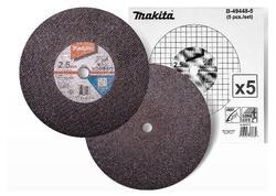 Makita B-49448-5 Kotúč rezný na kovy 355x2,5x25,4mm 5ks