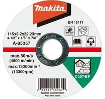 Makita A-85357 Rezný kotúč 115 x 3 x 22 mm