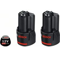 Bosch 2 x GBA 12 V 3,0 Ah Akumulátory 12 V, 3,0Ah 1600A00X7D