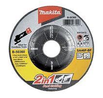 Makita B-50360 Kotúč 2v1 rezný/brúsny na kovy 115x2x22,23mm