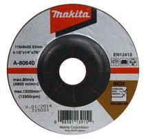 Makita A-80640 Brúsny kotúč Ø115 x 6 x 22mm, na oceľ a nehrdzavejúcu oceľ