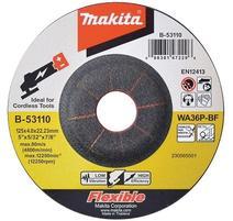 Makita B-53110 Kotúč brúsny na oceľ 125x4x22mm