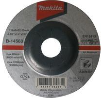 Makita B-14560 Brúsny kotúč Ø115 x 6 x 22mm, na hliník