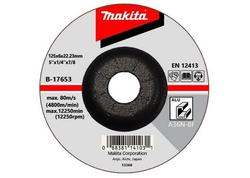 Makita B-17653  Brúsný kotúč na hliník 125x6x22mm
