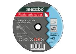 Metabo FLEXIARAPID SUPER Kotúč 230x1,9x22,23 INOX, TF 41, 616228000