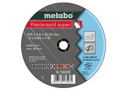 Metabo FLEXIARAPID SUPER Kotúč 230x1,9x22,23 INOX, TF 41, 616228000