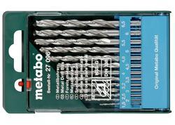 Metabo Kazeta s vrtákmi HSS-G 13 dielna, 627096000