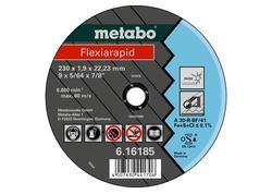 Metabo FLEXIARAPID Rezný kotúč 125x1,6x22,23 INOX, TF 41, 616182000