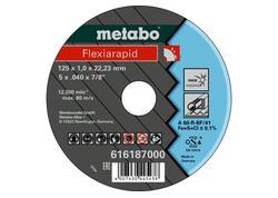 Metabo FLEXIARAPID Rezný kotúč 125X1,0X22,23 INOX, TF 41, 616187000