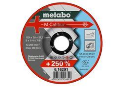 Metabo M-CALIBUR Brúsny kotúč 125 X 7,0 X 22,23 INOX, SF 27, 616291000