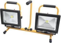 Extol Light Svietidlo pracovné LED so stojanom, 2x30W/2400lm, max. výška 175cm, IP65 43283
