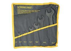 Strend Pro HR34181 Vidlicová sada kľúčov 07 dielna, DIN895, 6-32 mm