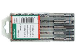 Metabo Súprava vrtákov SDS-PLUS PRO 4, 5 dielna, 630581000
