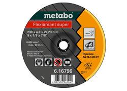 Metabo FLEXIAMANT SUPER Brúsny kotúč 180x4,0x22,23 potrubie, SF27, 616795000
