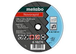 Metabo NOVORAPID Rezný kotúč 115 x 1,0 x 22,23 INOX, TF 41, 616270000