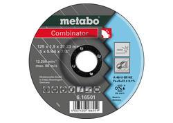 Metabo COMBINATOR Rezný kotúč 115 x 1,9 x 22,23 INOX, TF 42, 616500000