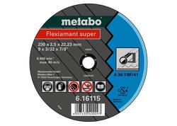 Metabo FLEXIAMANT SUPER Rezný kotúč 115x3,0x22,23 oceľ, TF 42, 616104000