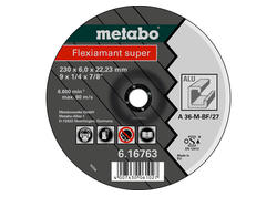 Metabo FLEXIAMANT SUPER Brúsny kotúč 115x6,0x22,3 Hliník, SF 27, 616748000