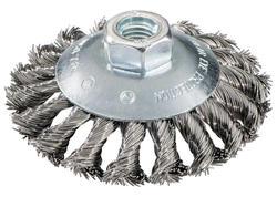 Metabo Okrúhla kefa 100x0,5x10 mm, M 14 ťahaný oceľový drôt zalomený, 623803000