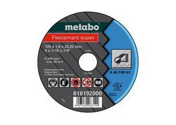 Metabo FLEXIARAPID SUPER Rezný kotúč 125x1,6x22,23 Oceľ, TF 41, 616192000