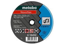 Metabo NOVOFLEX Rezný kotúč 125x2,5x22,23 Oceľ, TF 42, 616456000