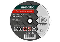 Metabo FLEXIAMANT SUPER Rezný kotúč 125x2,5x22,23 Hliník, TF 41, 616752000