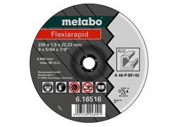Metabo FLEXIARAPID 125 x 1,0 x 22,23 mm, Hliník, TF 41, 616513000