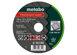 Metabo FLEXIAMANT SUPER Rezný kotúč 125x1,5x22,23 Keramika,TF41, 616196000
