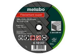 Metabo FLEXIAMANT SUPER Rezný kotúč 125x2,5x22,23 Kameň, TF 42, 616312000