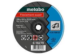 Metabo FLEXIAMANT Brúsny kotúč 125x6,0x22,23 Oceľ, SF 27, 616486000