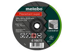 Metabo FLEXIAMANT SUPER Brúsny kotúč 125x6,0x22,23 Kameň, SF 27, 616731000