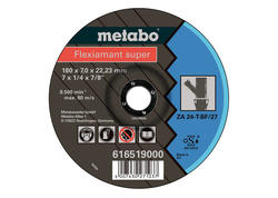 Metabo FLEXIAMANT SUPER Brúsny kotúč 125x7,0x22,23 Zliatina, SF 27, 616518000
